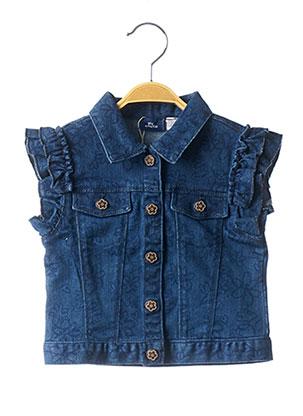 Veste casual bleu CHICCO pour fille