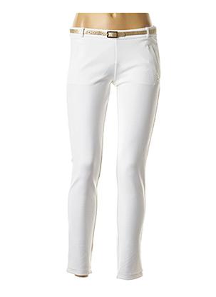 Pantalon casual blanc LIU JO pour fille