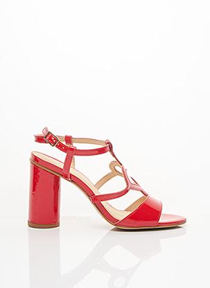 Sandales/Nu pieds rouge MELLOW YELLOW pour femme