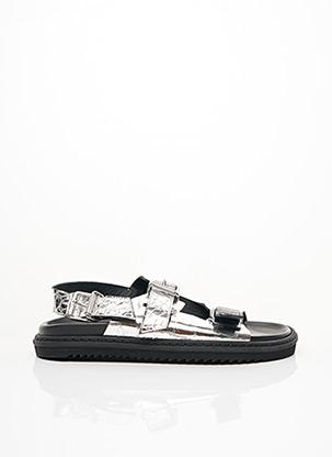 Sandales/Nu pieds gris ZADIG & VOLTAIRE pour femme
