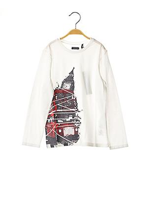 T-shirt manches longues blanc IKKS pour enfant