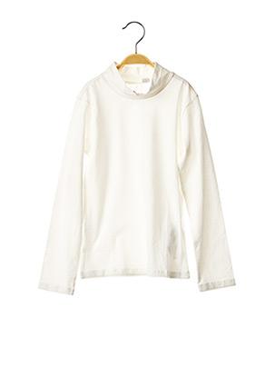T-shirt manches longues blanc CHICCO pour fille