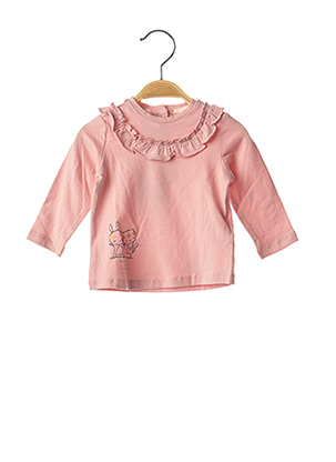T-shirt manches longues rose CHICCO pour fille