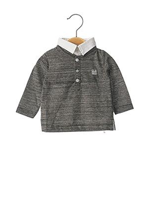 T-shirt manches longues gris IKKS pour garçon