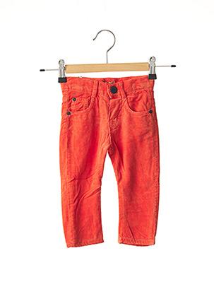 Pantalon casual orange CHICCO pour fille