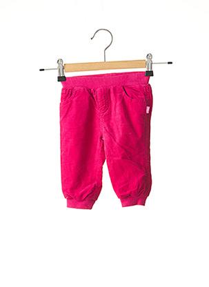 Pantalon casual rose CHICCO pour fille