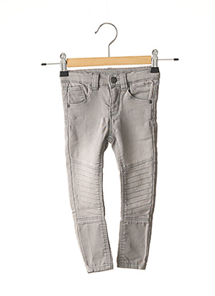Jeans skinny gris CHICCO pour fille