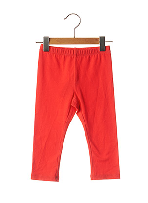 Legging rouge CHICCO pour fille