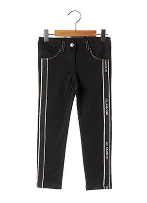 Pantalon casual noir CHICCO pour fille