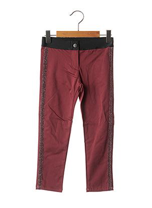 Pantalon casual rouge CHICCO pour fille