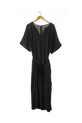 Combi-pantalon noir MAT. pour femme
