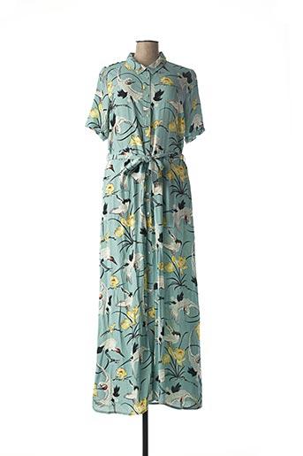 Robe mi-longue bleu KING LOUIE pour femme