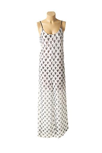 Robe longue blanc KONTESSA pour femme