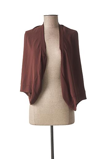 Veste casual marron MAT. pour femme