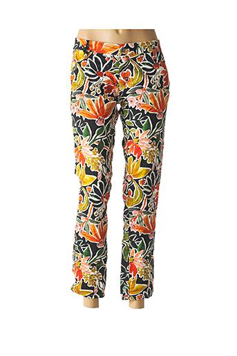 Pantalon 7/8 orange PLEASE pour femme