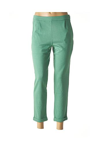 Pantalon 7/8 vert KING LOUIE pour femme