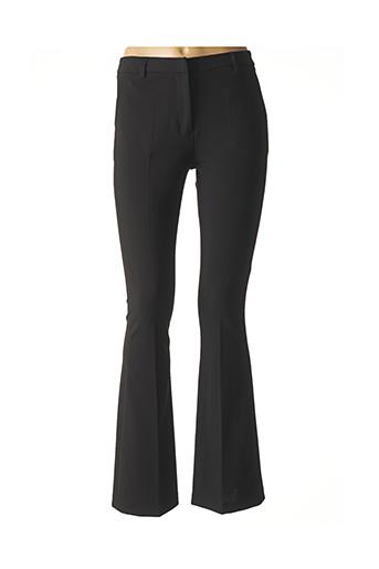 Pantalon chic noir LAUREN VIDAL pour femme