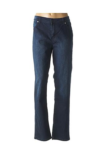 Jeans coupe droite bleu BUGARRI pour femme