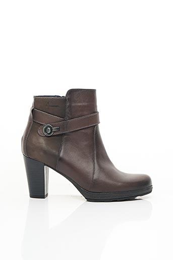 Bottines/Boots marron DORKING pour femme