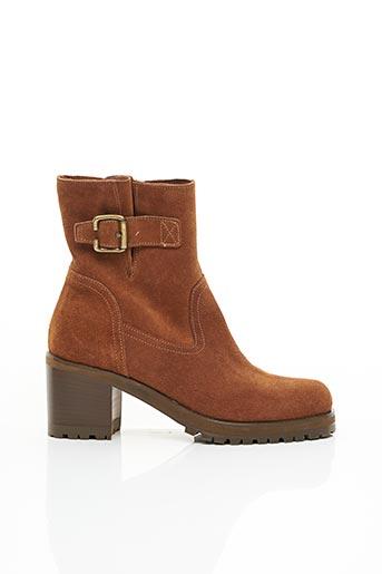 Bottines/Boots marron NIMAL pour femme