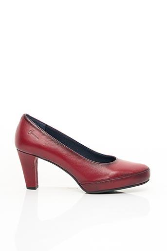 Escarpins rouge DORKING pour femme
