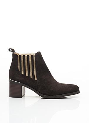 Bottines/Boots marron ADIGE pour femme