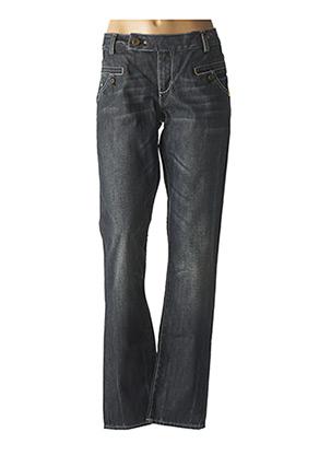 Jeans coupe droite gris DDP pour femme