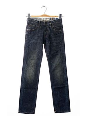 Jeans coupe slim bleu TEDDY SMITH pour garçon