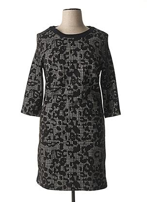 Robe pull noir LEBEK pour femme