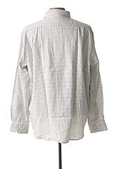 Chemise manches longues blanc ARMORIAL pour homme seconde vue