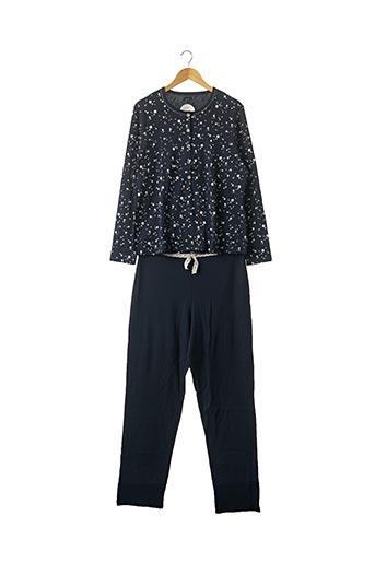 Pyjama bleu BISBIGLI pour femme