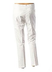 Pantalon chic blanc LIU JO pour femme seconde vue
