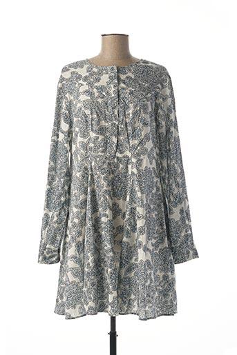 Robe courte bleu SAMSOE & SAMSOE pour femme