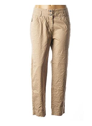 Pantalon casual marron ANGELS NEVER DIE pour femme