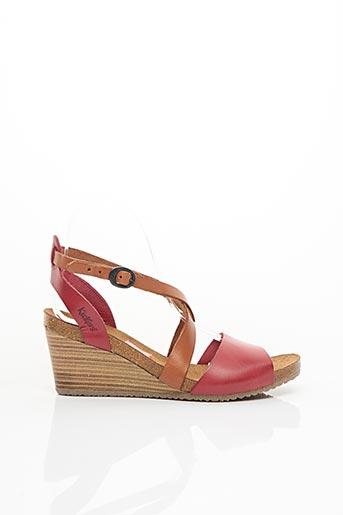 Sandales/Nu pieds rouge KICKERS pour femme