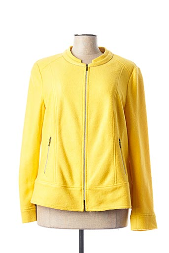 Veste casual jaune RABE pour femme
