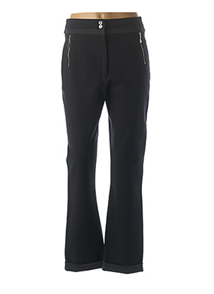 Pantalon casual bleu CHRISTINE LAURE pour femme
