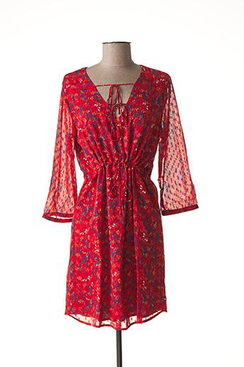 Robe courte rouge VILA pour femme