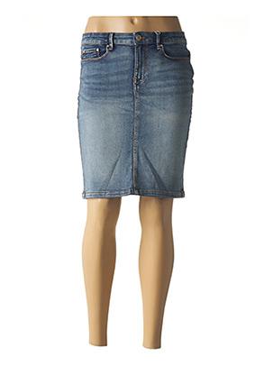 Jupe courte bleu VILA pour femme
