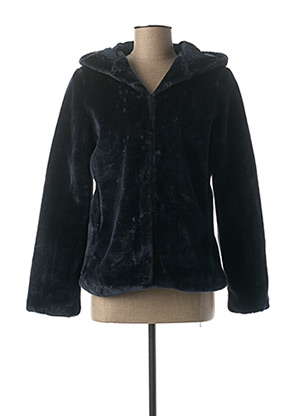 Manteau court bleu VILA pour femme