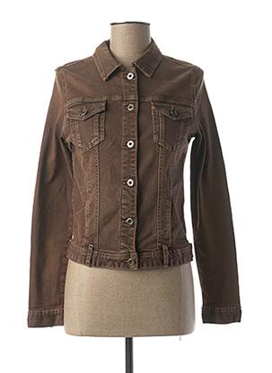 Veste en jean marron ONADO pour femme
