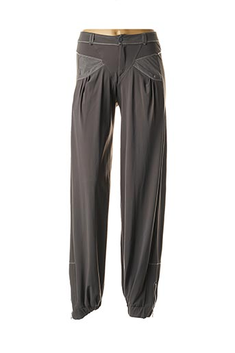 Pantalon casual gris MC PLANET pour femme