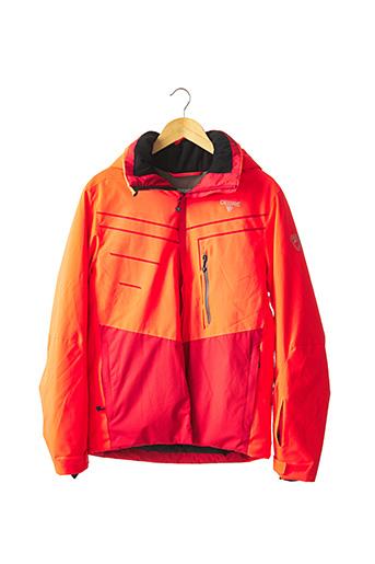 Parka orange DEGRE7 pour homme