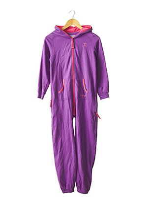 Combi-pantalon violet ONEPIECE pour fille