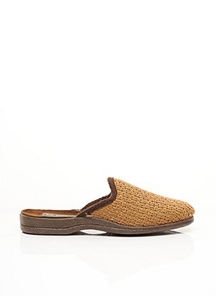 Chaussons/Pantoufles marron LA VAGUE pour homme
