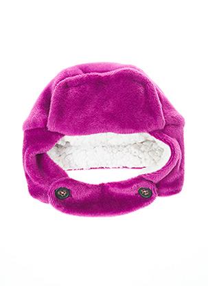 Bonnet violet MILK ON THE ROCKS pour fille