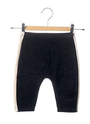 Pantalon casual noir MILK ON THE ROCKS pour fille