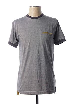 T-shirt manches courtes gris LA SQUADRA pour homme