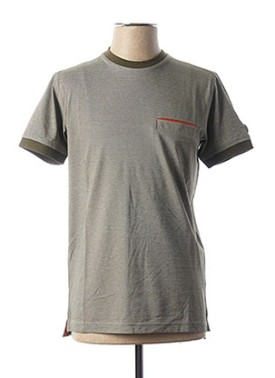 T-shirt manches courtes vert LA SQUADRA pour homme