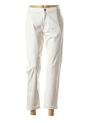Pantalon 7/8 blanc VILA pour femme